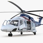Corporate Transport Hubschrauber Agusta Westland AW189 manipuliert 3d model
