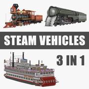 Steam Vehicles 3D模型收藏 3d model