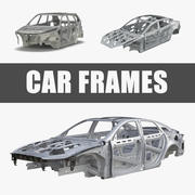 Car Frames Collection 3d model