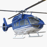 Civiele helikopter Airbus H145 3d model
