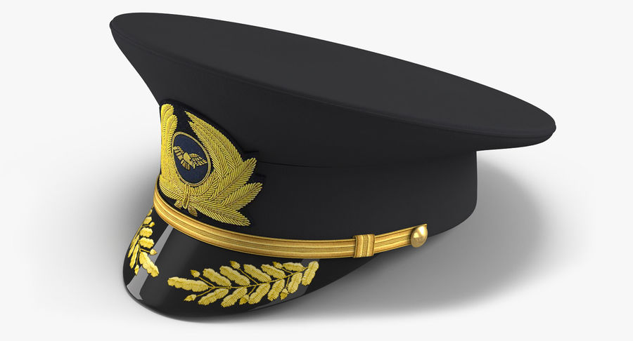 Airline Pilot and Stewardess 3D Models Collection royalty-free 3d model - Preview no. 12