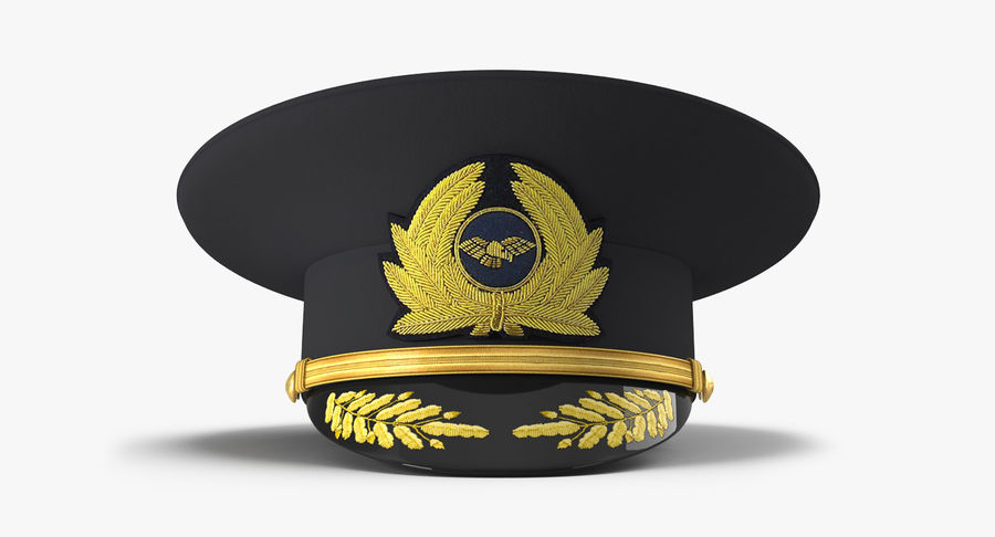 Airline Pilot and Stewardess 3D Models Collection royalty-free 3d model - Preview no. 11