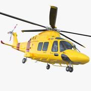 Helikopter AgustaWestland AW169 3d model