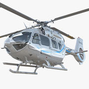 Corporate Transport Helicopter Airbus H145 3d model