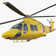Helikopter AgustaWestland AW169 Arma 3d model