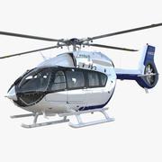 Hélicoptère utilitaire léger Eurocopter EC145 T2 3d model