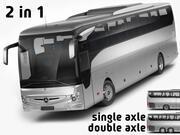Mercedes Tourismo 2017 3d model