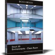Dosch 3D - Ortamlar - Temiz Oda 3d model