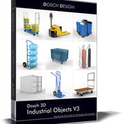 Dosch 3D - Industrial Objects V3 3d model