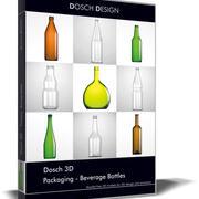 Dosch 3D - Packaging - Beverage Bottles 3d model