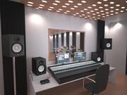 Studio di registrazione 3d model