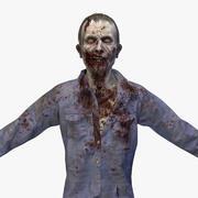 Zombie John No Rig 3d model