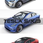 Coleção Tesla SX-3 2017 3d model