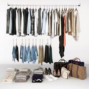 Verzameling van Clothes_V 3d model