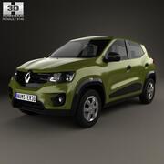 Renault Kwid 2016 3d model