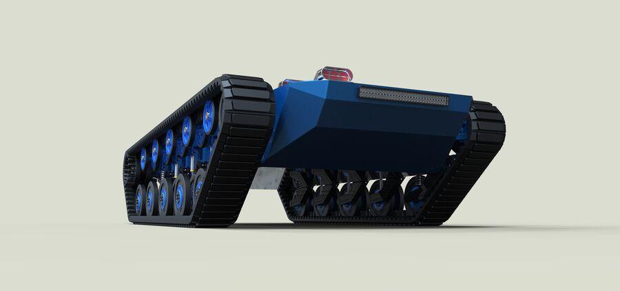 트랙에 근육 차 royalty-free 3d model - Preview no. 5