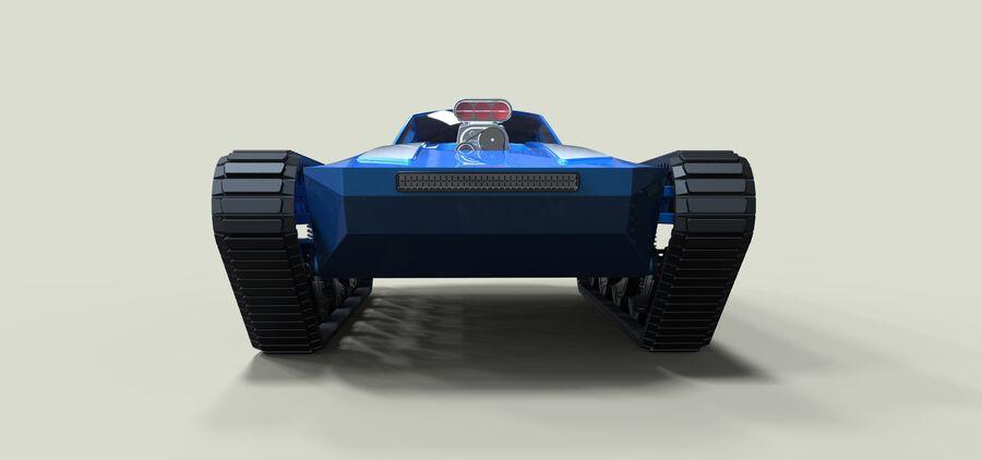 트랙에 근육 차 royalty-free 3d model - Preview no. 7