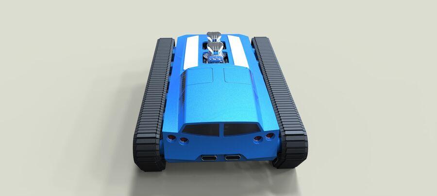 트랙에 근육 차 royalty-free 3d model - Preview no. 15