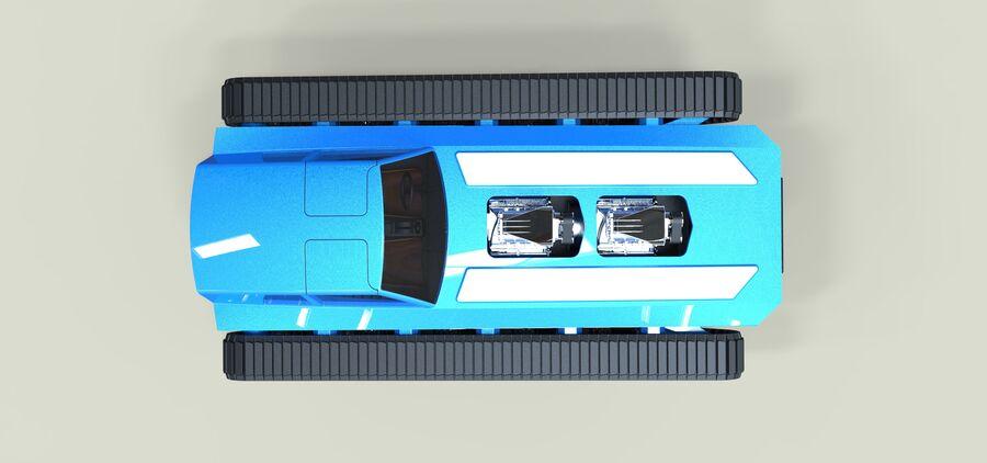 트랙에 근육 차 royalty-free 3d model - Preview no. 10