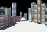 city buildings modern architecture 3d model