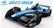 Formula E Renault e.dams EZ17 2017 2018 3d model
