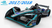 Formula E Panasonic Jaguar Racing Team 2017 2018 3d model