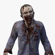 Zombie John Rigged 3d model