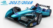 Formula E Nio Formula E team 2017 2018 3d model