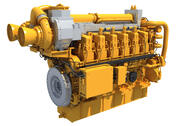 Marine Power Engine 3d model