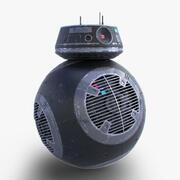 Звездные войны BB-9e дроид 3d model