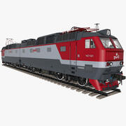 Electric Locomotive CHS7 3d model