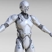 Android Mech 3d model
