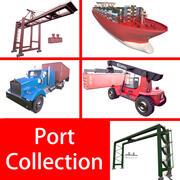 Port Collection 3d model