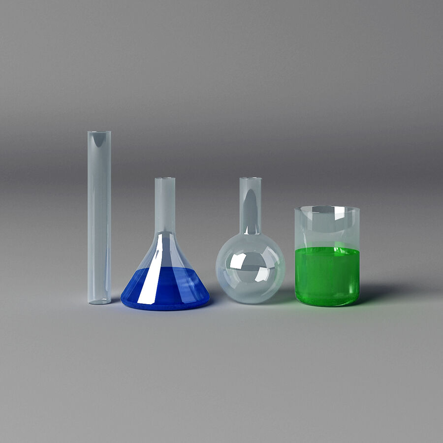 Equipamento de laboratório médico royalty-free 3d model - Preview no. 10