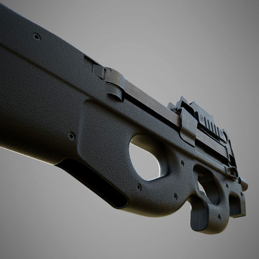 P90 royalty-free 3d model - Preview no. 5