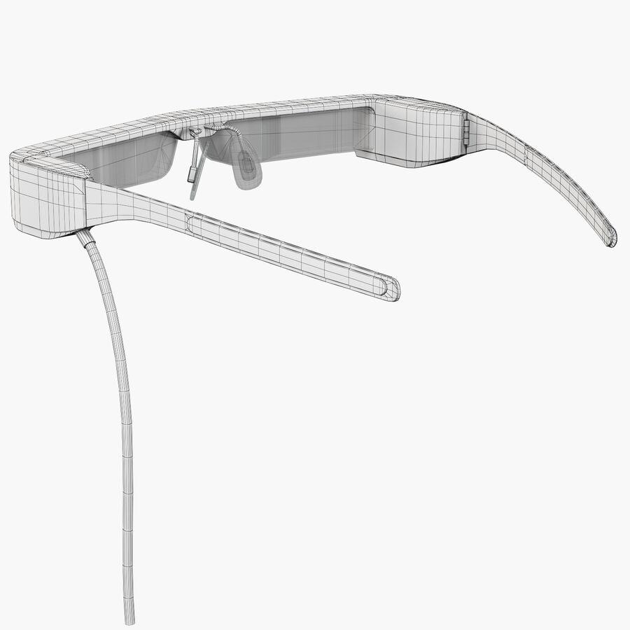 Epson Moverio BT-300 óculos inteligentes para drone royalty-free 3d model - Preview no. 3