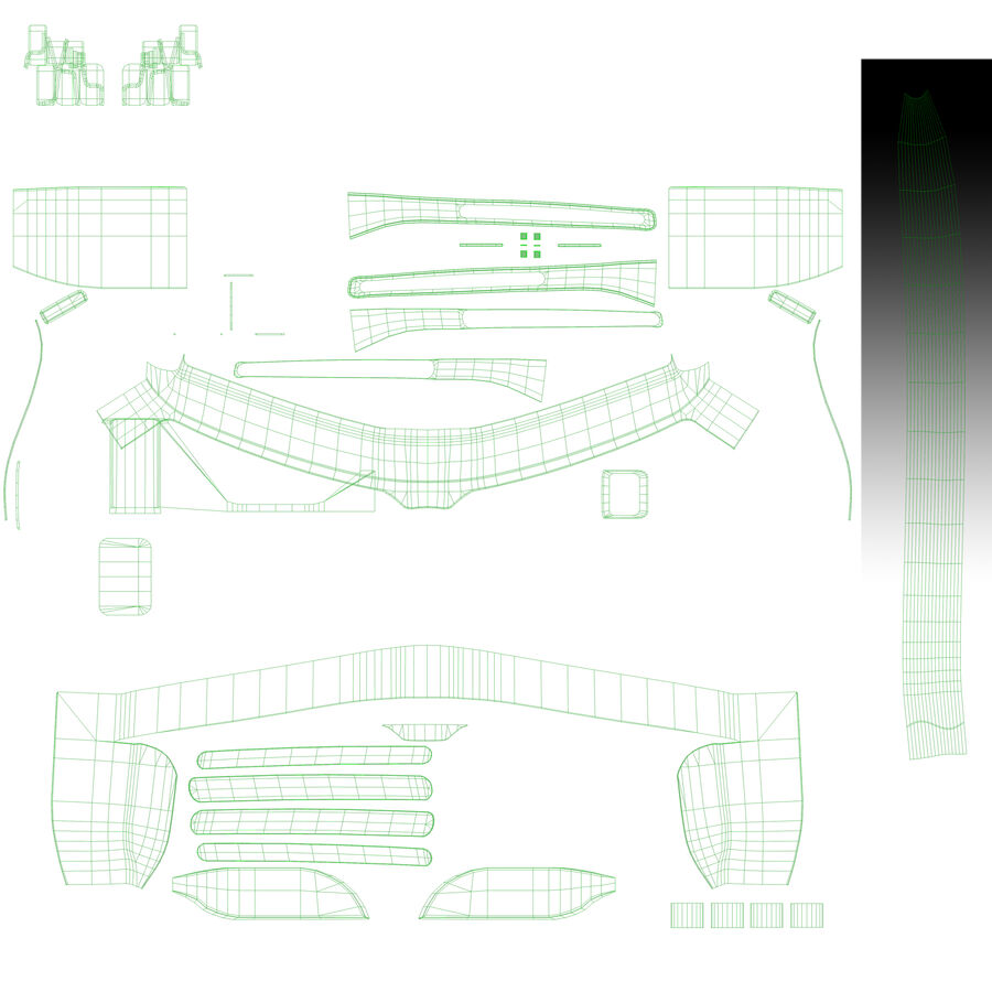 Epson Moverio BT-300 óculos inteligentes para drone royalty-free 3d model - Preview no. 9