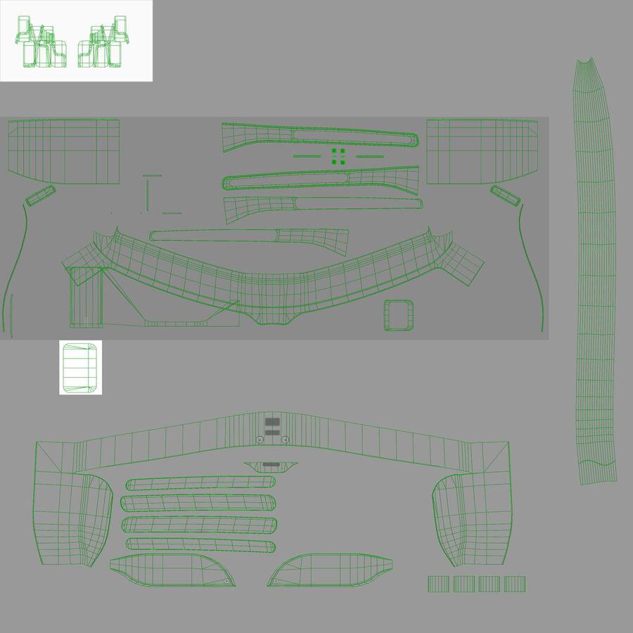 Epson Moverio BT-300 óculos inteligentes para drone royalty-free 3d model - Preview no. 6