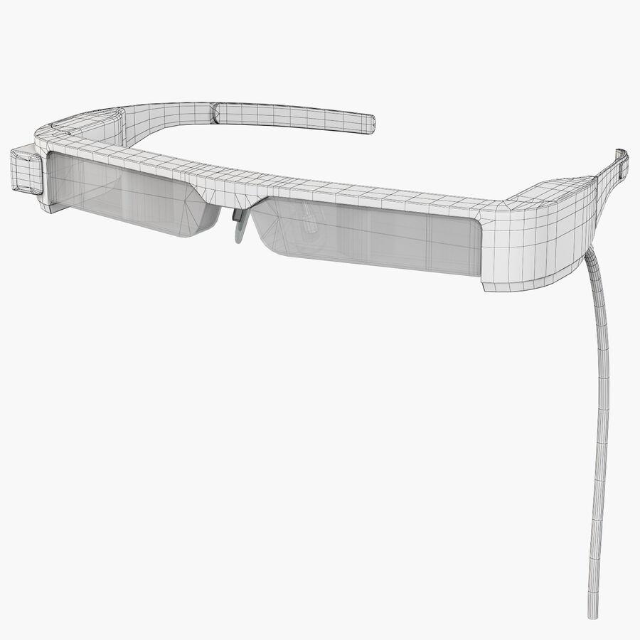 Epson Moverio BT-300 óculos inteligentes para drone royalty-free 3d model - Preview no. 1