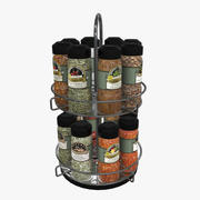 Spices Rack 3d model