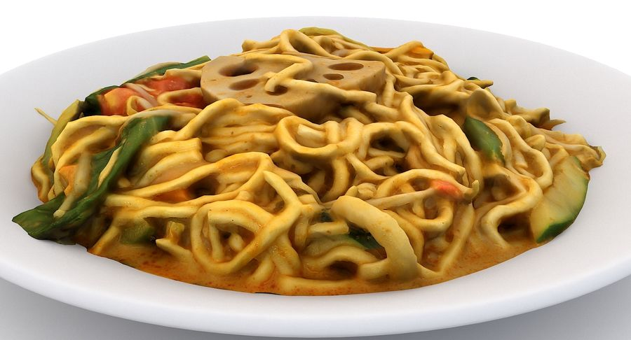 Asian Food royalty-free 3d model - Preview no. 19