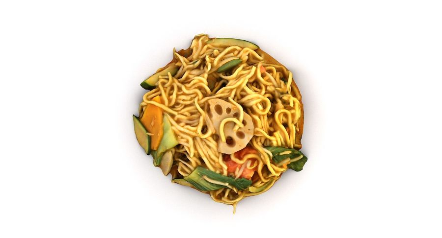 Asian Food royalty-free 3d model - Preview no. 16