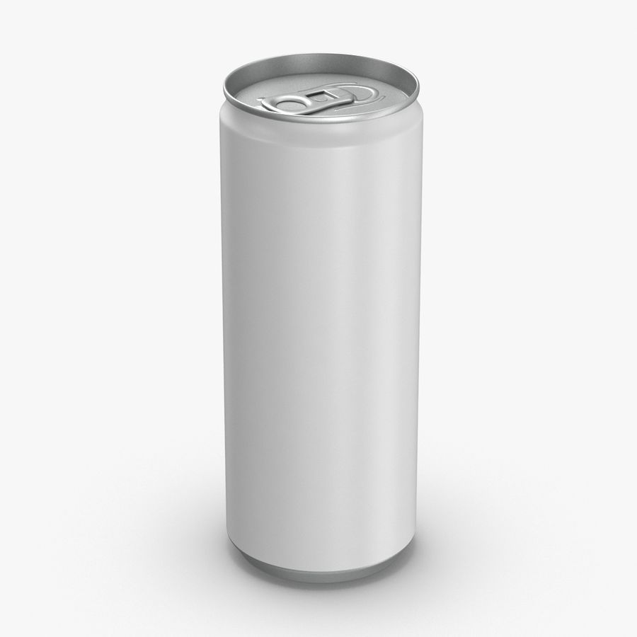 250ml Soda Can Mockup royalty-free 3d model - Preview no. 1