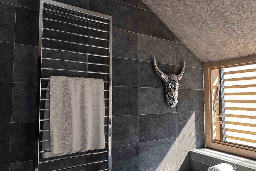 Salle de bain moderne scène 4 modèle 3D $29 - .unknown .max ...