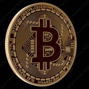 Bitcoin modelo 3d