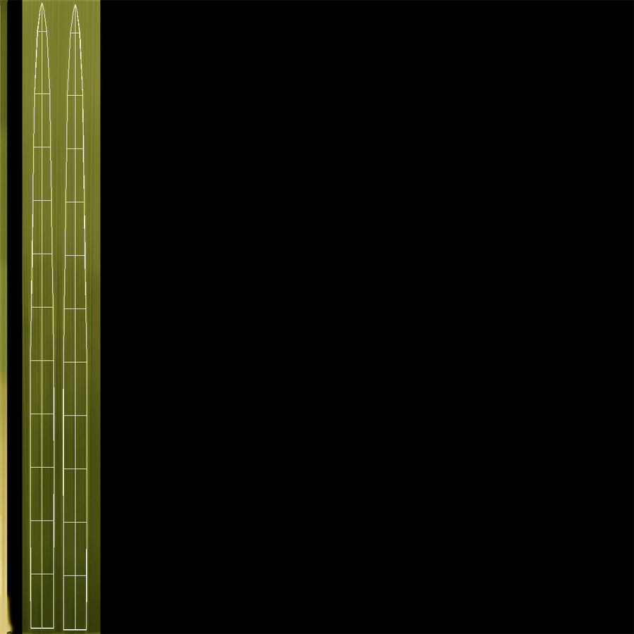 Calamagrostis Karl Foerster Grass royalty-free 3d model - Preview no. 10