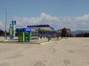 estación de petroleo modelo 3d