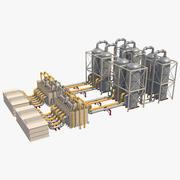 Silo industriale 4 3d model
