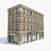 Apartment Building 17 3d model