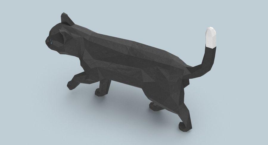 Chodzący Kot royalty-free 3d model - Preview no. 8